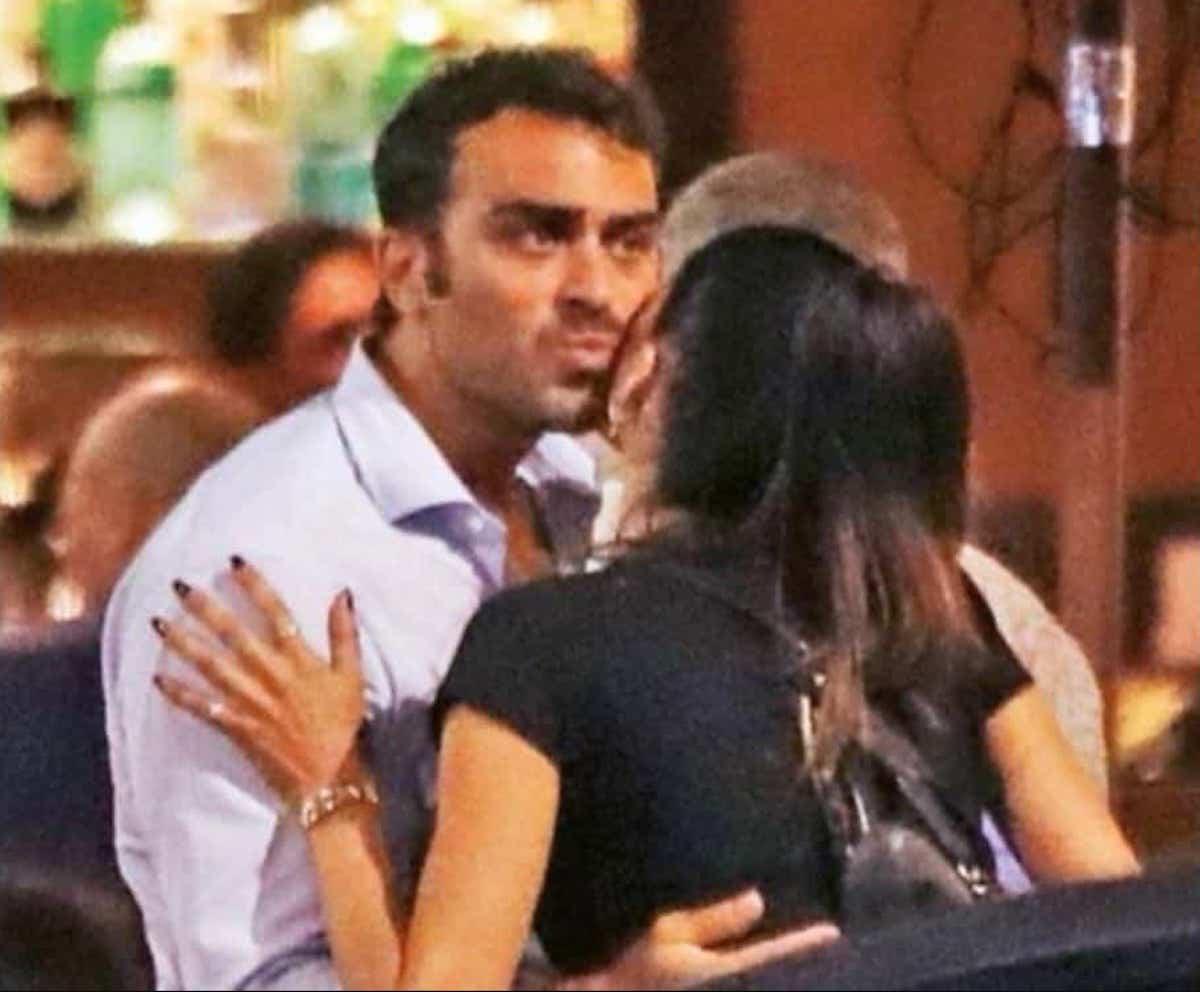 foto di gianmaria antinolfi paparazzato con l'ex