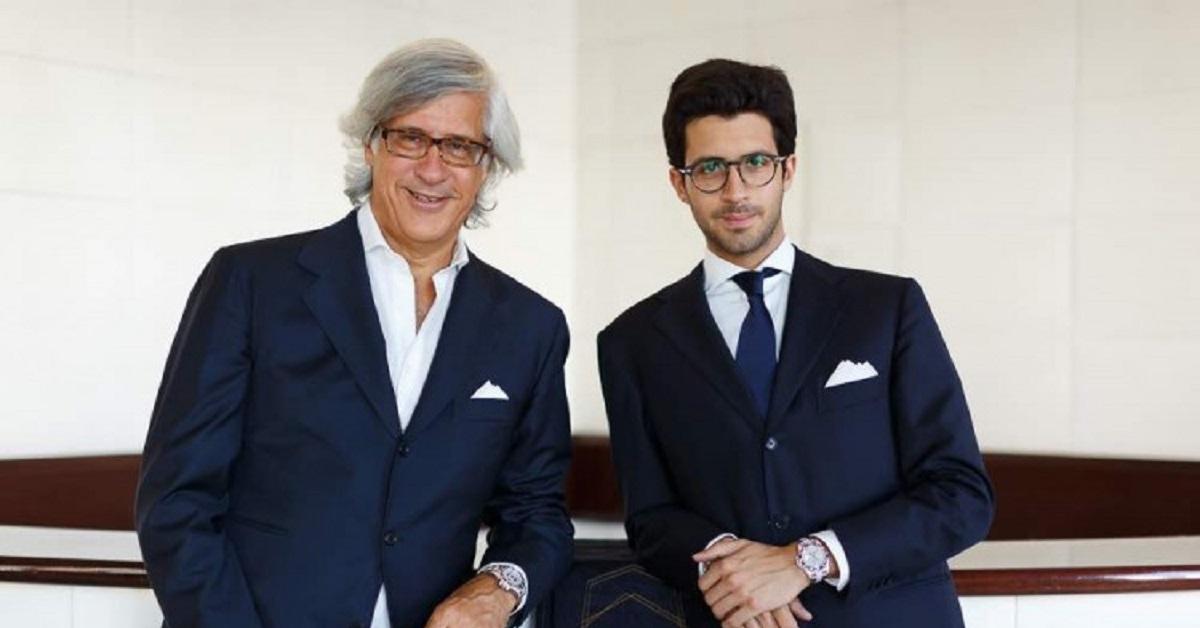 Sandro Fratini e il figlio