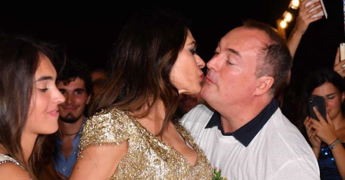 Maria Grazia Cucinotta e il marito