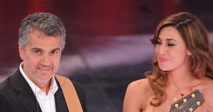 Belen Rodriguez e Gustavo Rodriguez