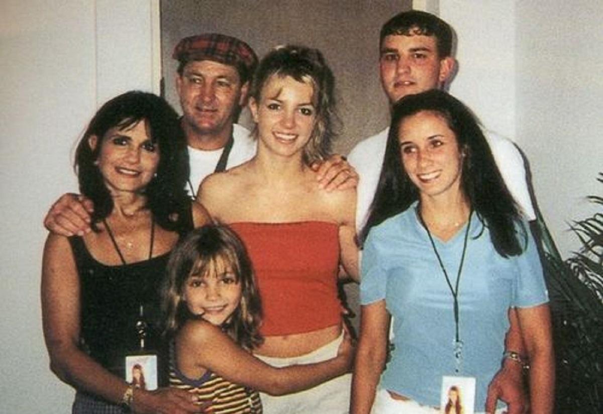 Jamie Spears e la sua famiglia