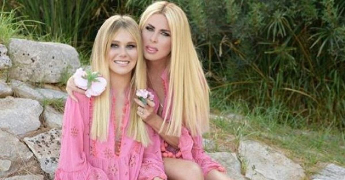 Loredana Lecciso e la figlia