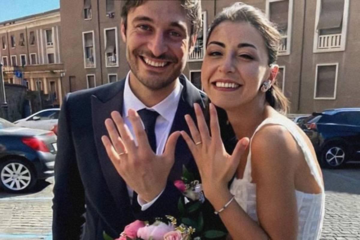 Lino Guanciale e Antonella Liuzzi matrimonio