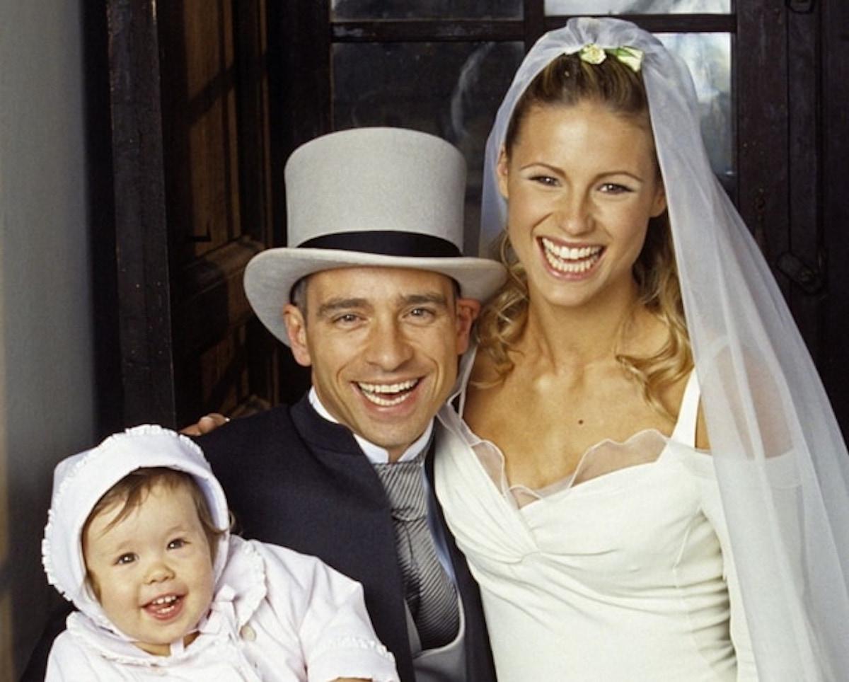 foto matrimonio Eros e Michelle