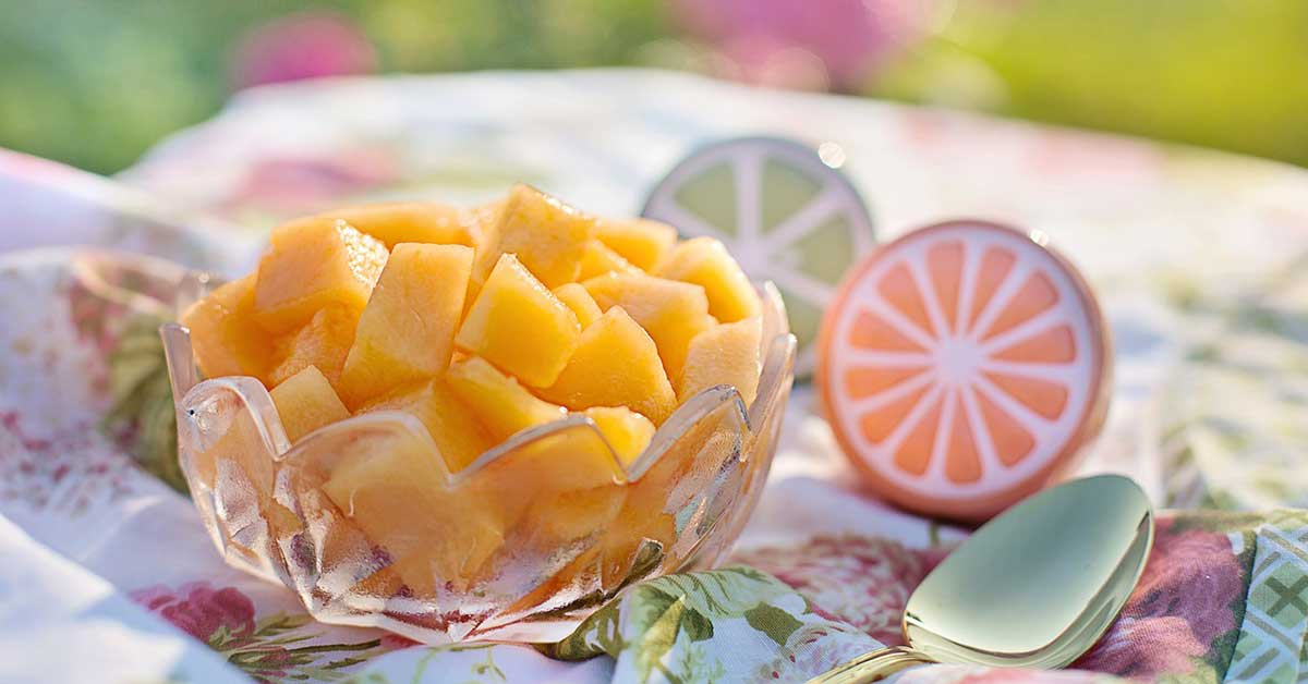 Melone cantalupo e dieta