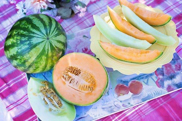 Melone frutto estivo