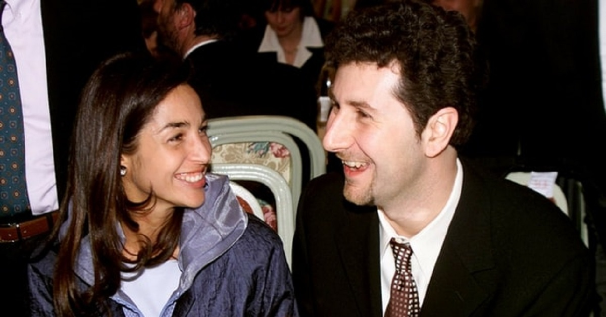 Gioia Selis e Fabio Fazio