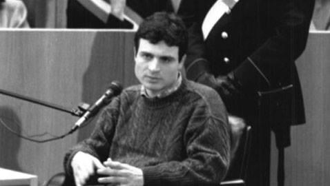 Luigi Chiatti in tribunale