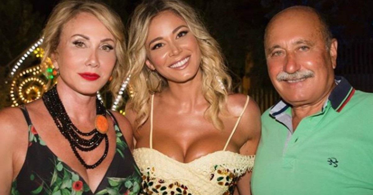Diletta Leotta e i genitori