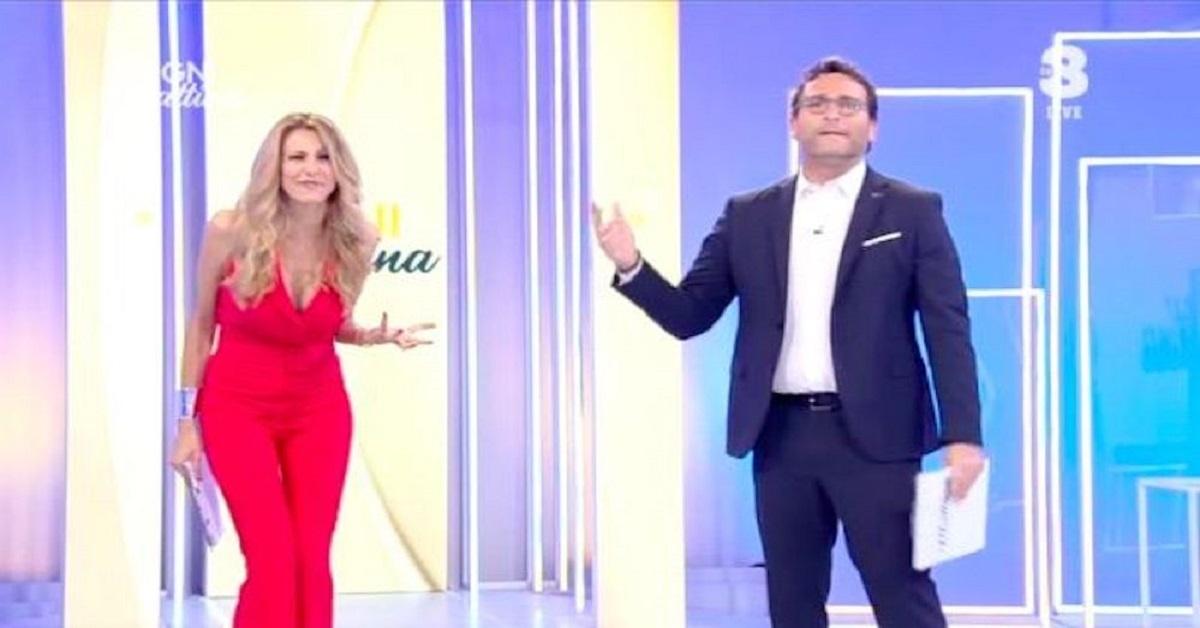 Adriana Volpe riprende Carmen Di Pietro
