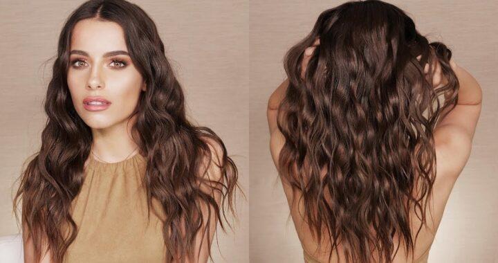 Come fare le onde sui capelli (beach waves) e avere i capelli mossi dall'effetto naturale