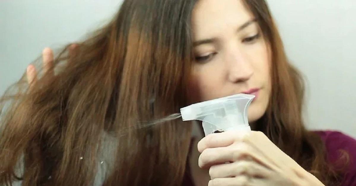 Spray sui capelli