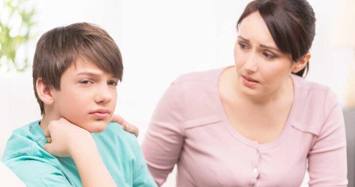 Parlare al figlio adolescente