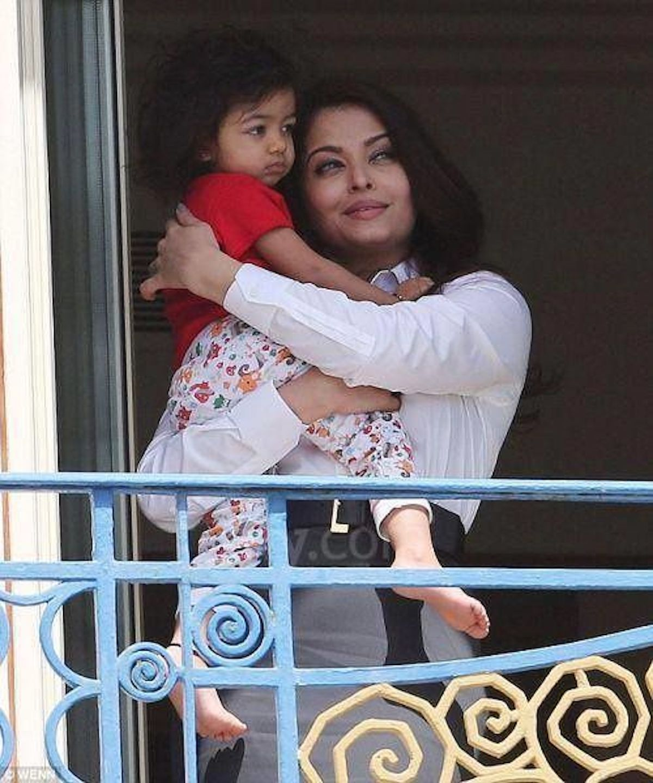 Figlia di Aishwarya Rai