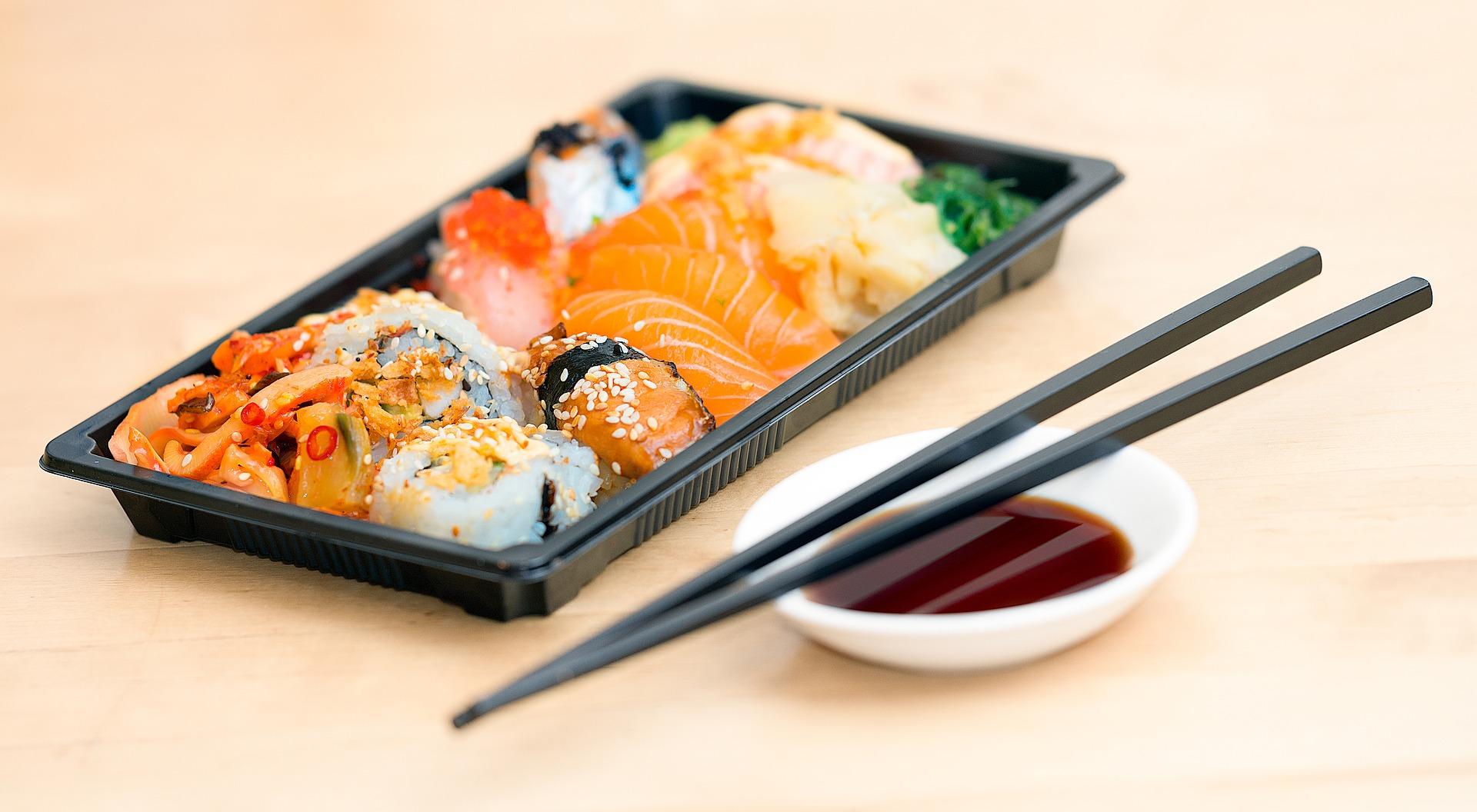 come si usano le bacchette sushi