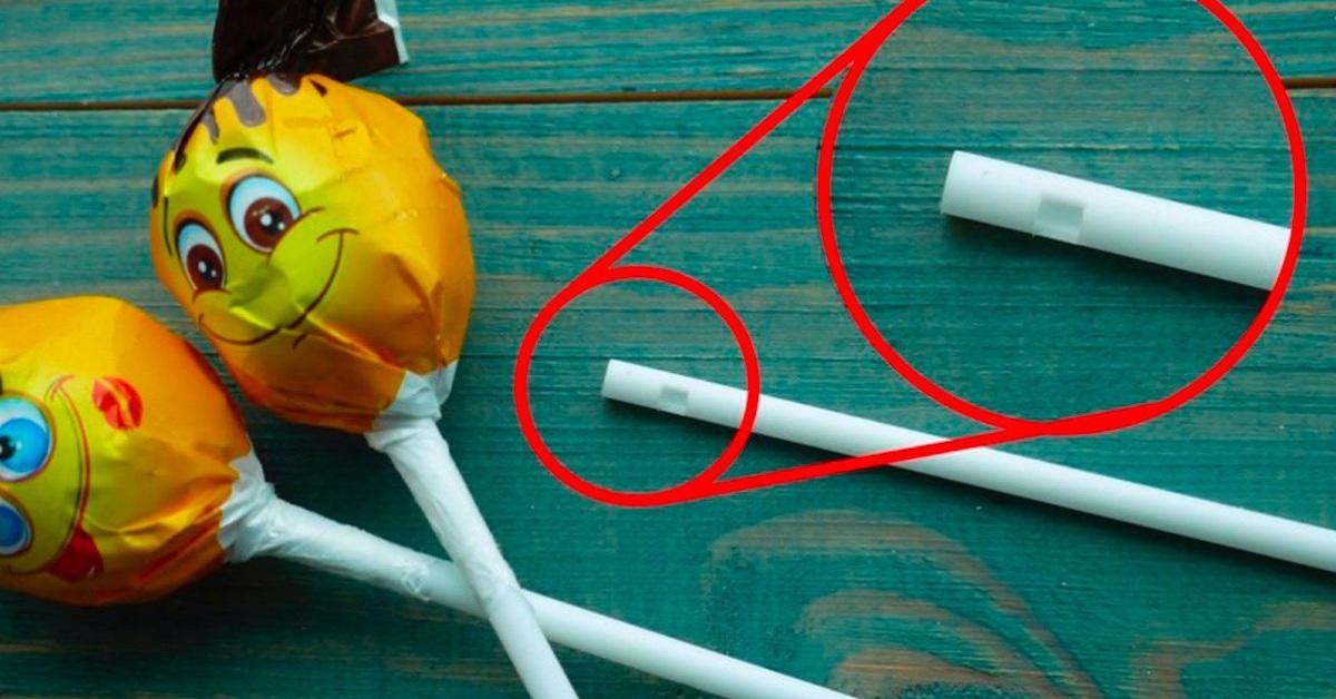 lecca lecca l'utilizzo del foro nel bastoncino