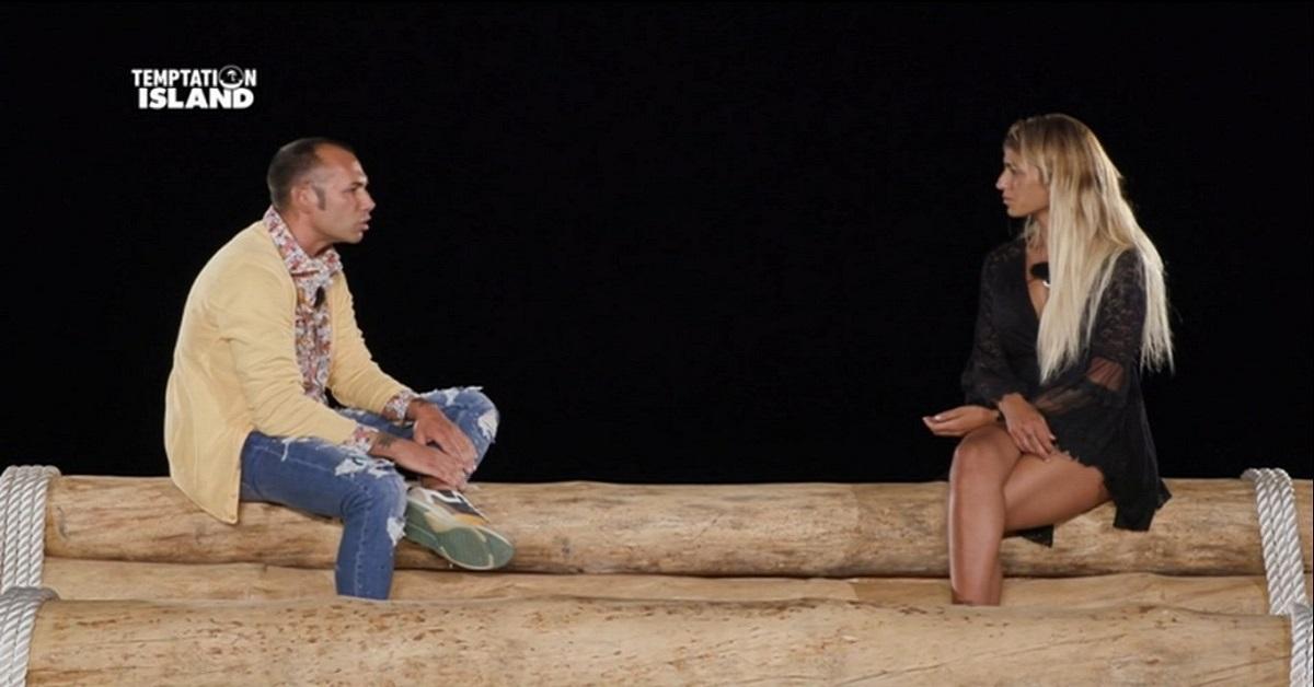 Temptation Island: Ciavy e Valeria falò di confronto