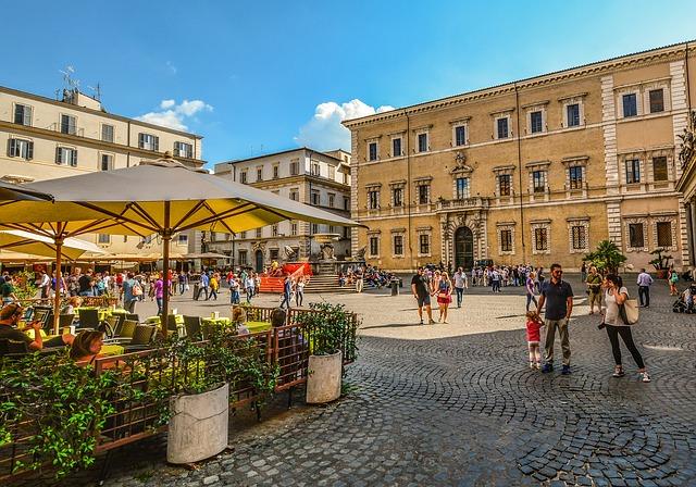 Quartiere Trastevere a Roma