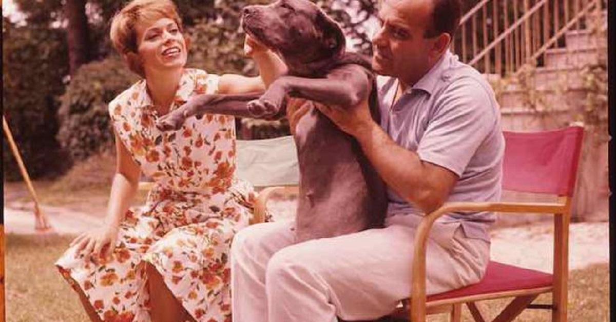 Franca Valeri e l'ex marito