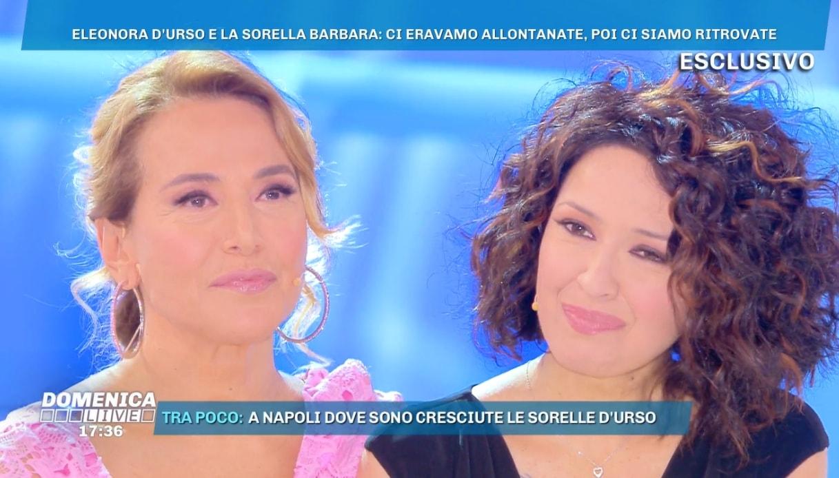 Foto di Barbara D'Urso con la sorella Eleonora