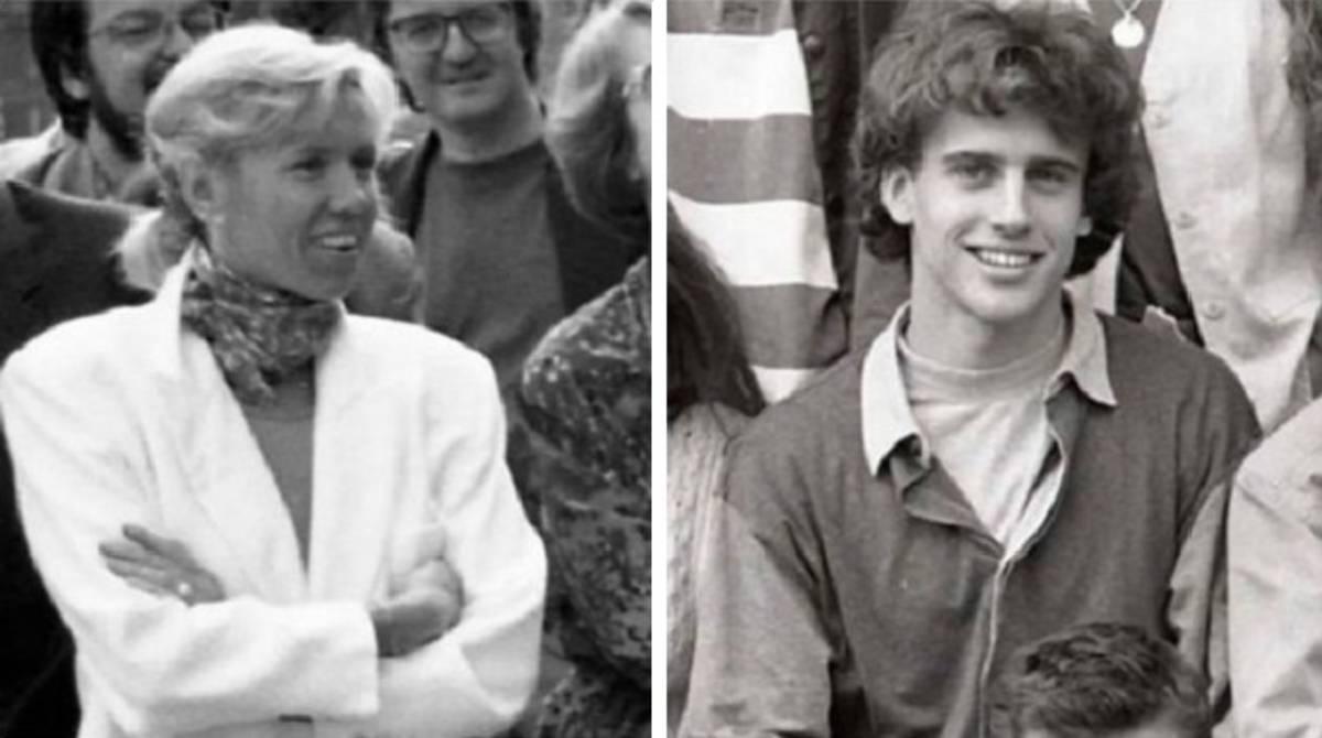 la moglie di Emmanuel Macron, Brigitte Tronier