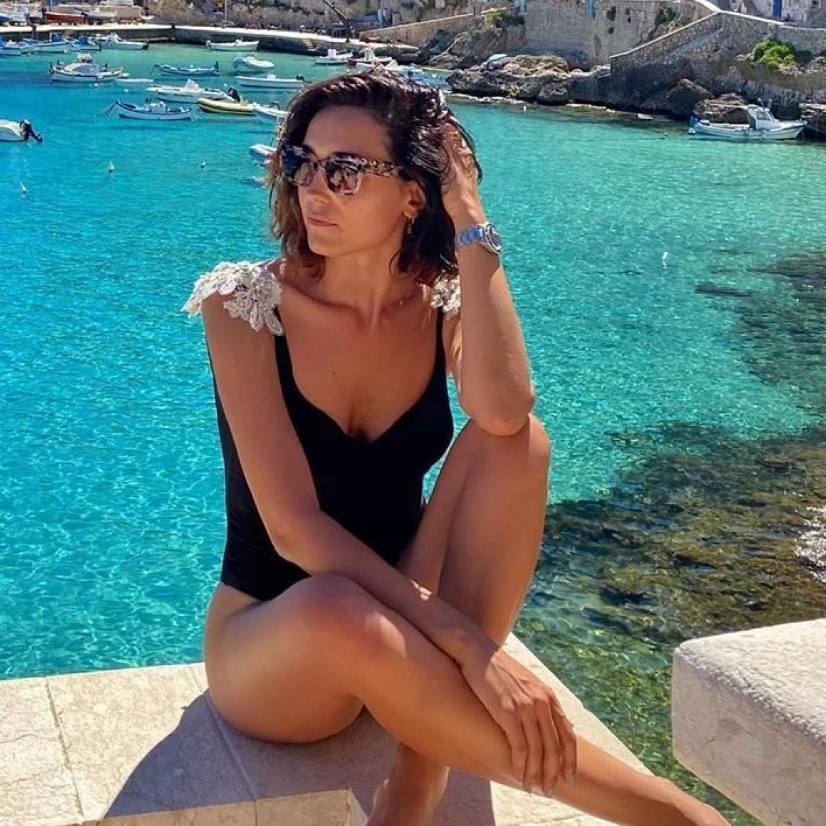 Caterina Balivo in vacanza