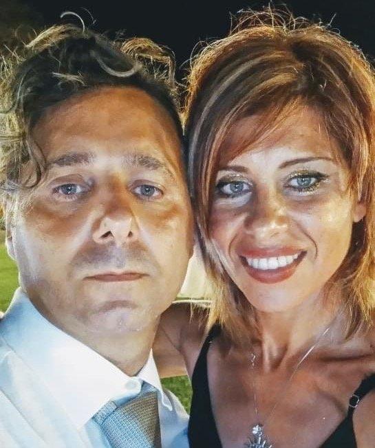 Viviana Parisi e Daniele Mondello