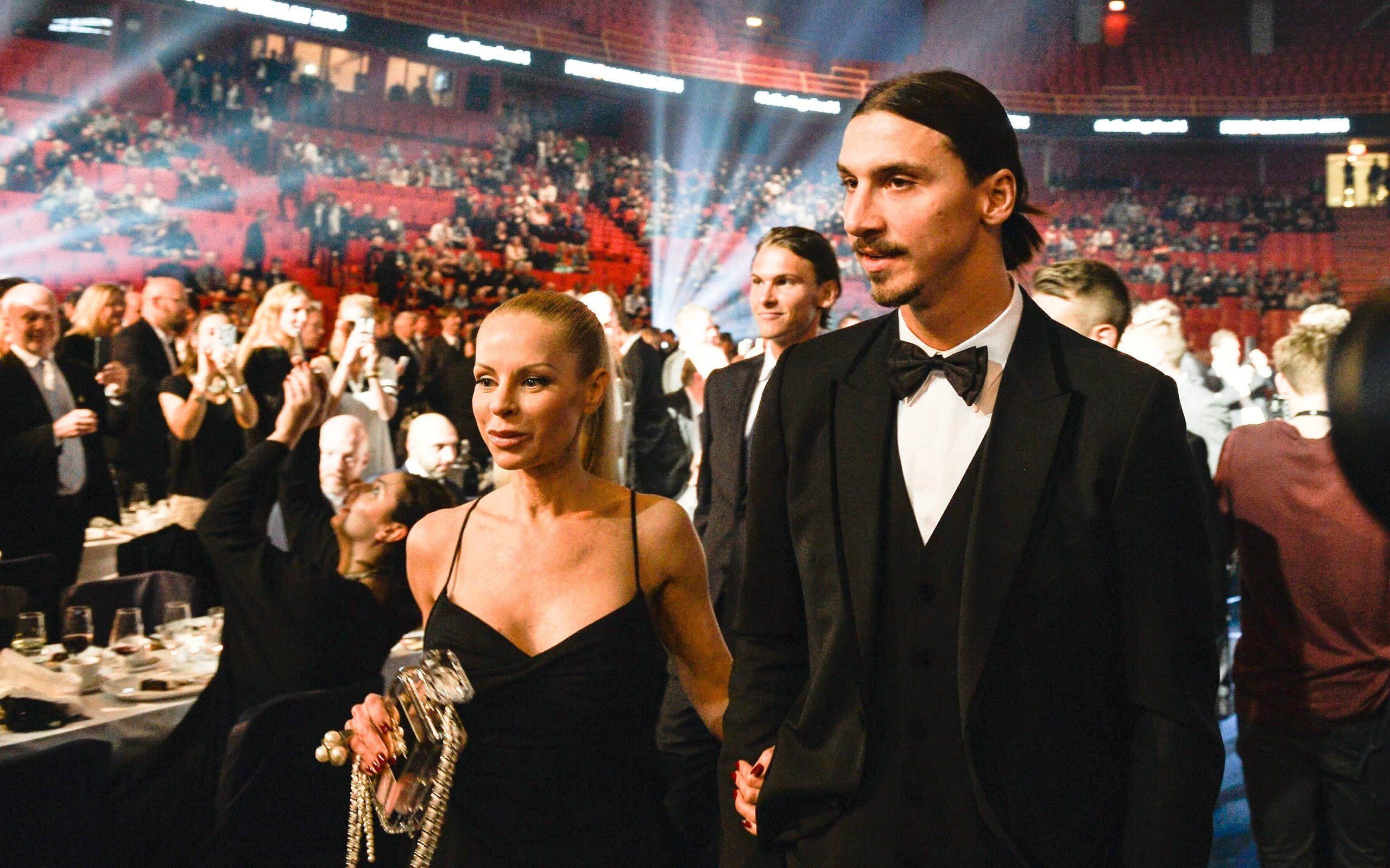 Diletta Leotta e Zlatan Ibrahimovic