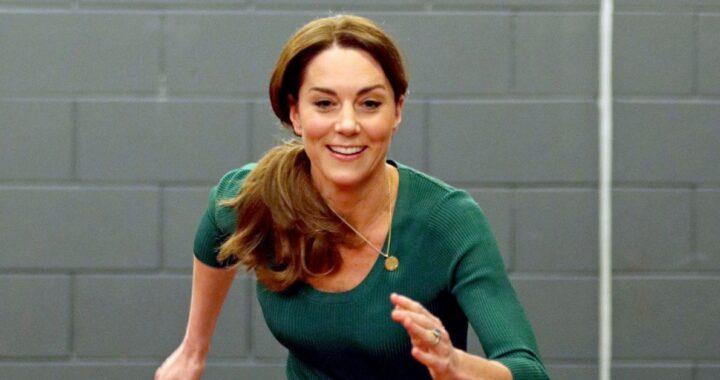 Kate Middleton allenamento