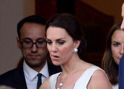 Kate Middleton furiosa