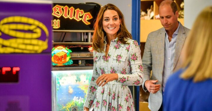 Kate Middleton distanza sociale
