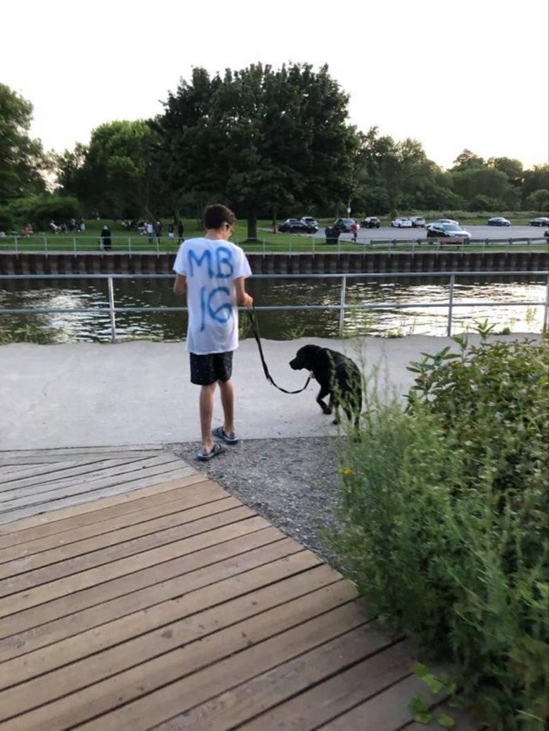 Misha Brandt fobia cani