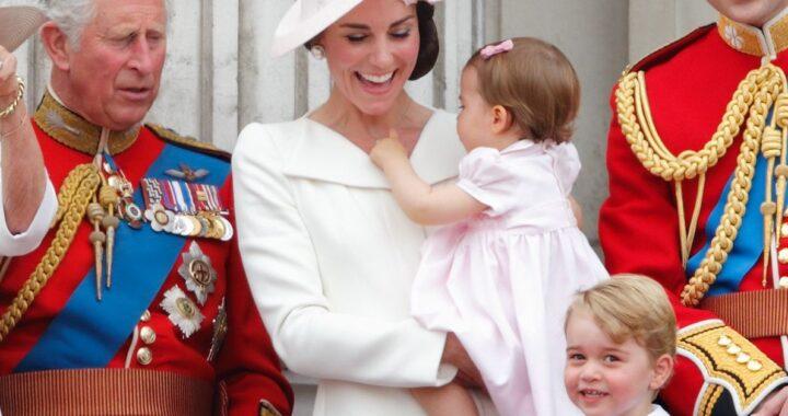 Principe George e Charlotte