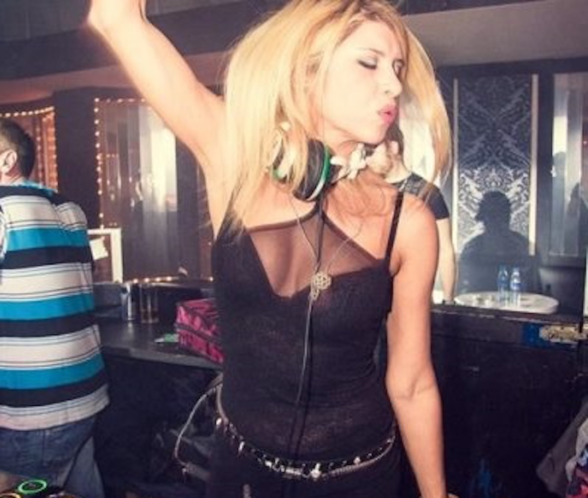 Deejay Viviana Parisi