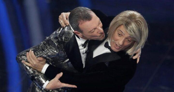 Amadeus Fiorello presentano Sanremo 2021