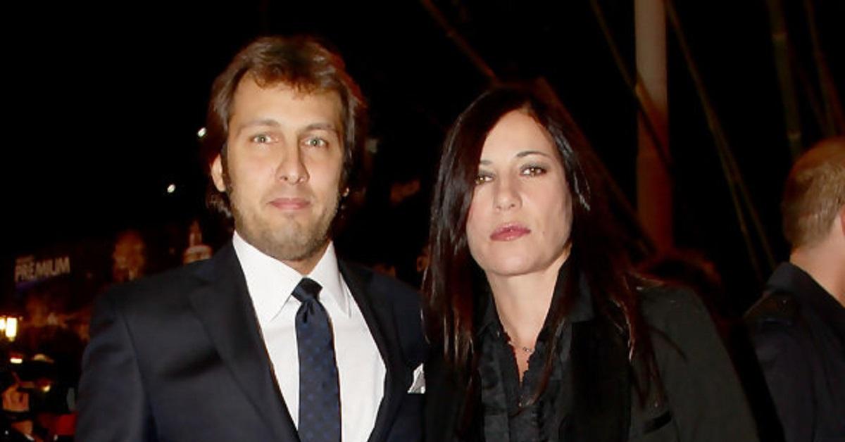 Paola Turci e l'ex marito