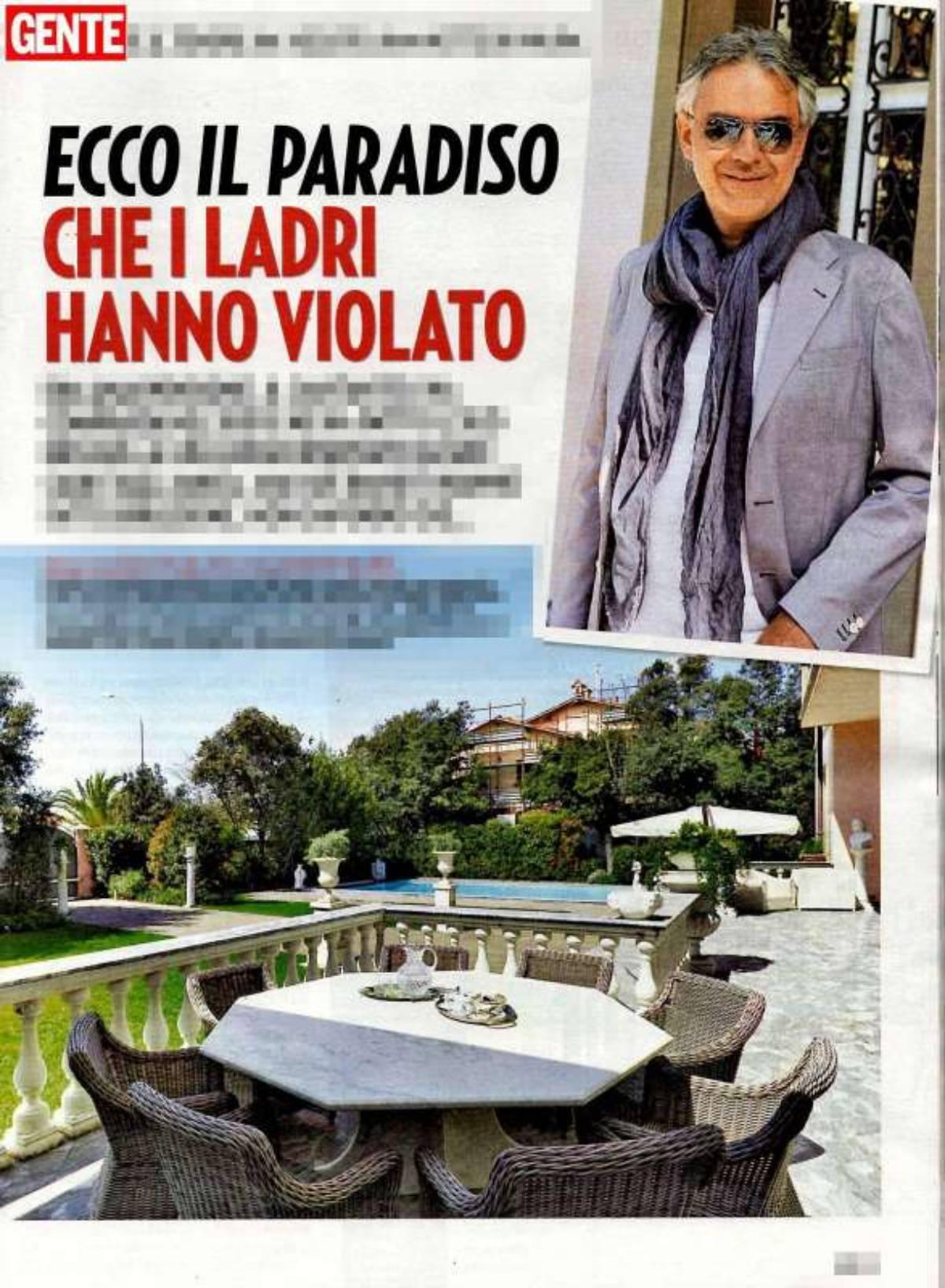 Andrea Bocelli terrazzo