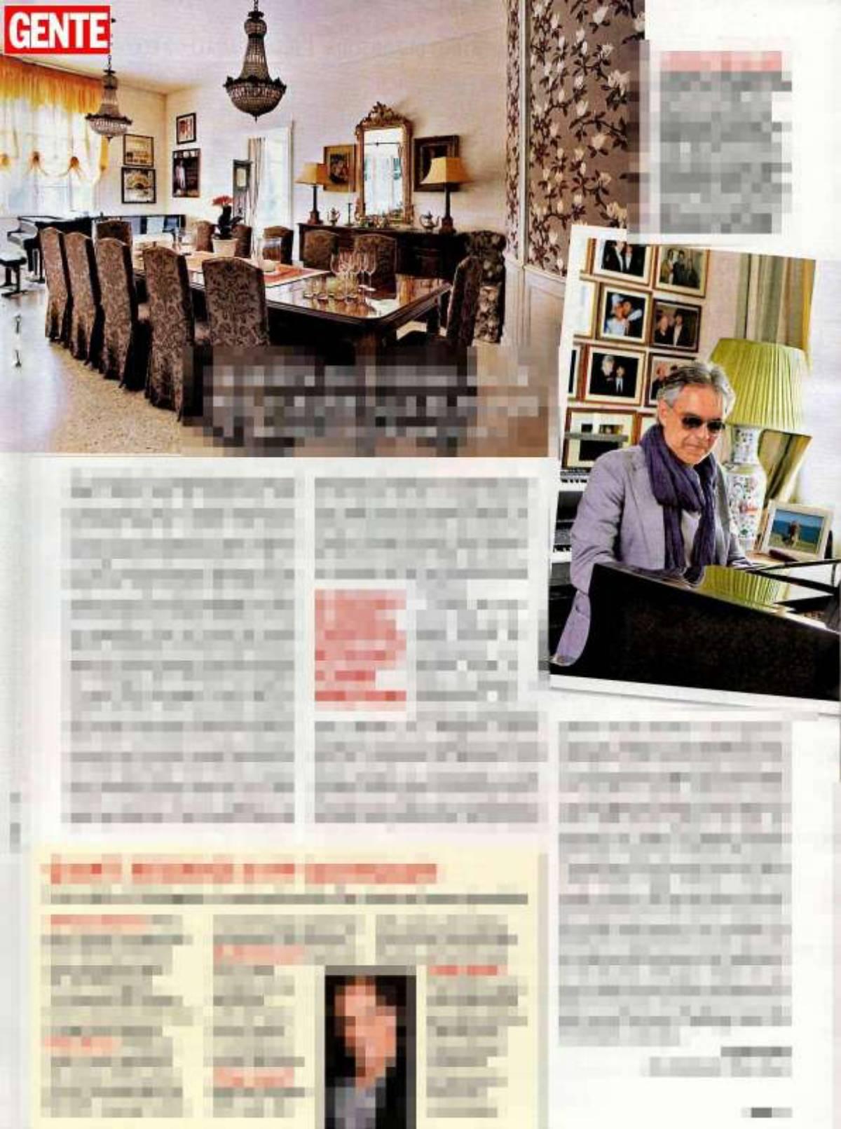salone Andrea Bocelli