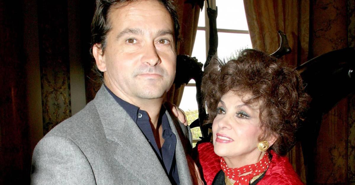 Andrea Milko Skofic e Gina Lollobrigida