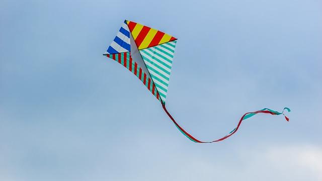 Festa degli aquiloni in volo