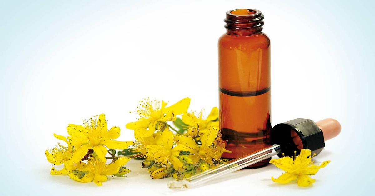 fiori gialli olio essenziale