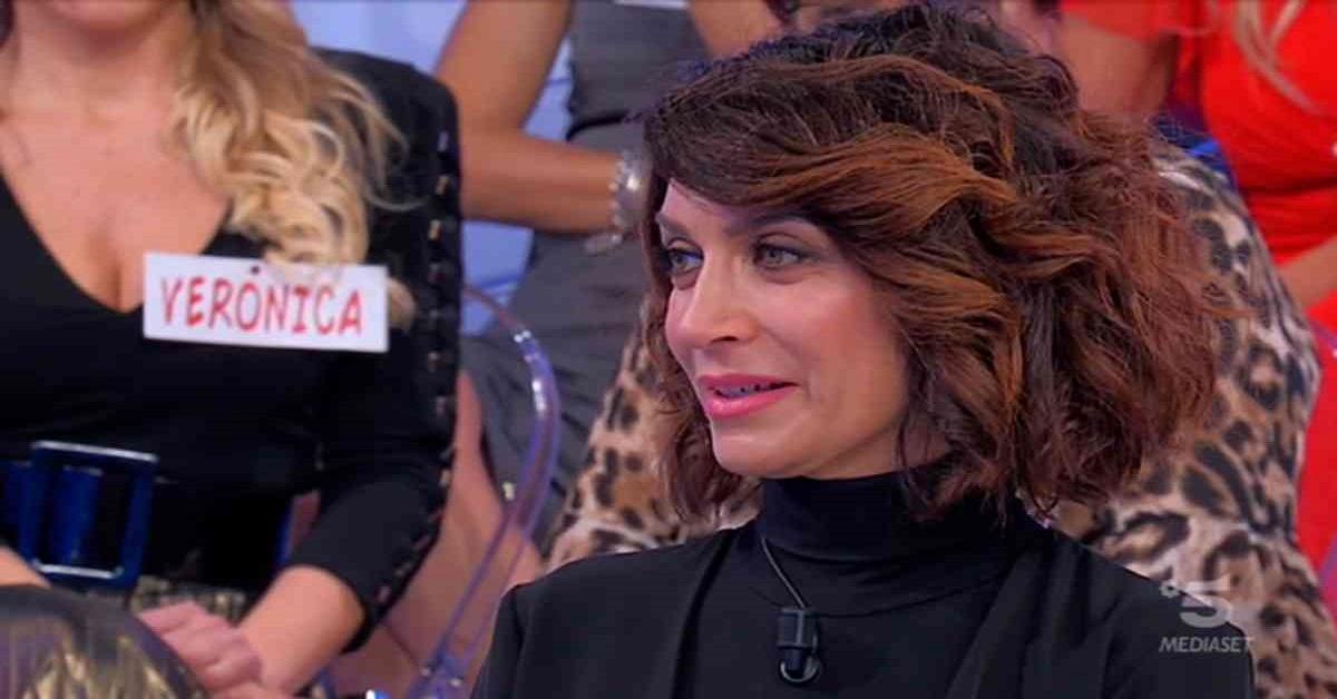 Barbara De Santi amareggiata