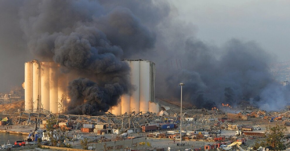 Beirut esplosione