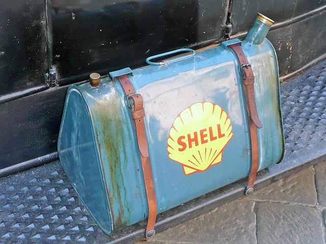 Tanica per fare benzina old style
