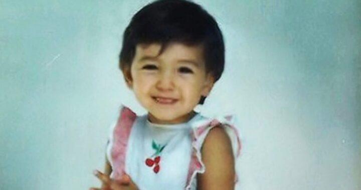 Caterina Balivo e la foto da bambina