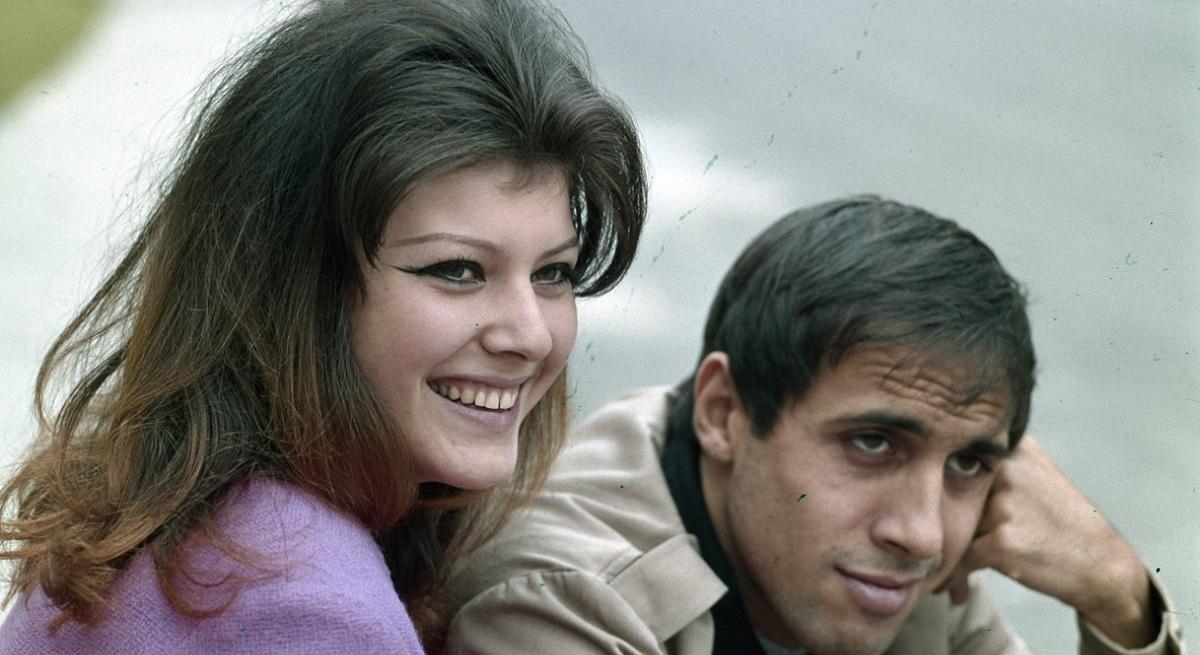 Adriano Celentano e la moglie
