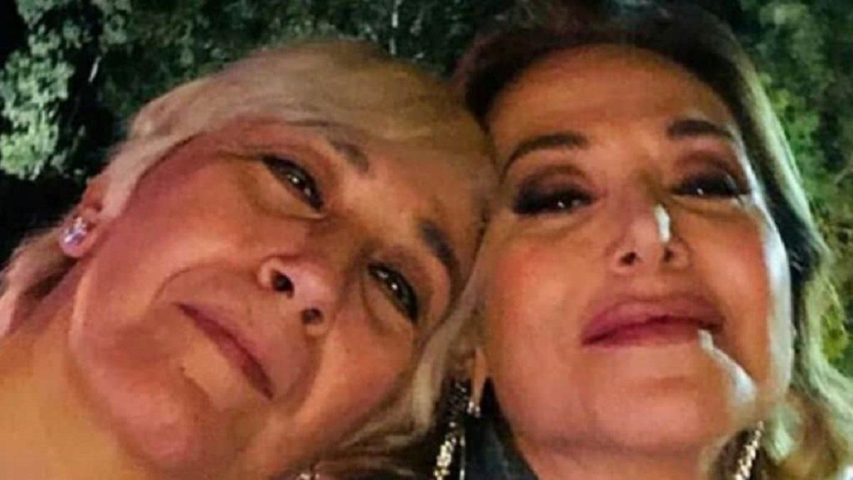 Barbara D'Urso e la sorella