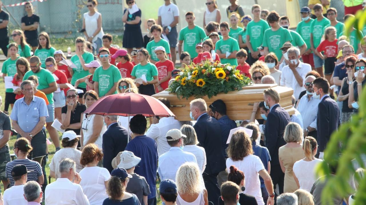 funerale Stefano Borghes