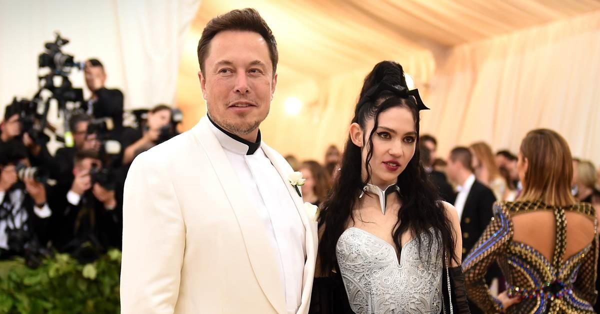 Elon Musk e la compagna