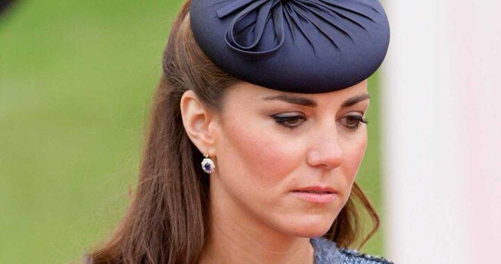Kate Middleton triste